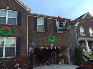 Christmas Lights Surprise For Wife