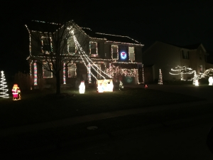 Burlighton Ky christmas Lights Display