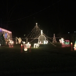 Mount Carmel christmas lights display